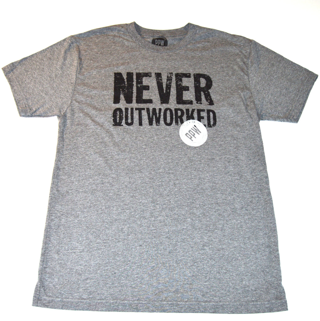 Never Outworked Triblend Tee