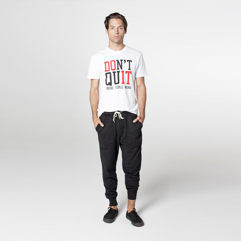 DON'T QUIT MEN'S - White