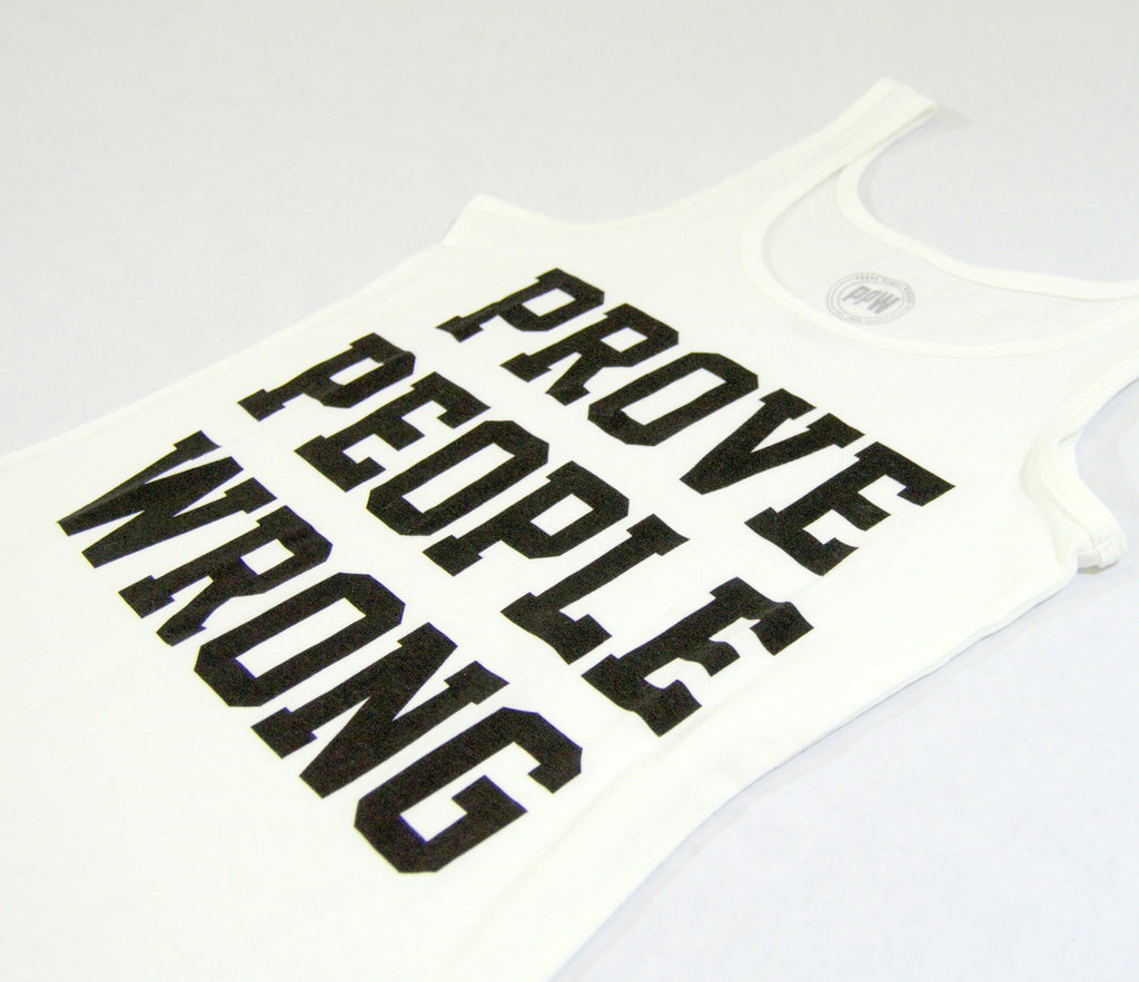 COLLEGIATE WOMEN'S TANK TOP - White