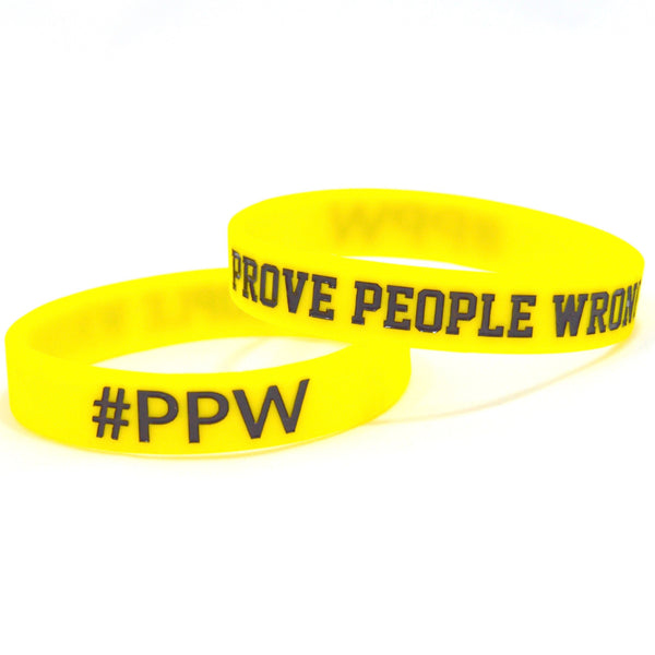 PPW WRISTBAND YELLOW