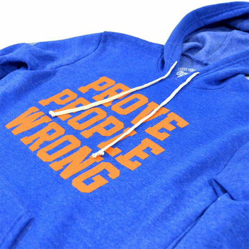 COLLEGIATE Tri-Blend Royal Pullover
