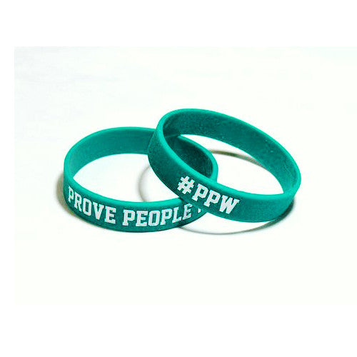 PPW WRISTBAND TEAL