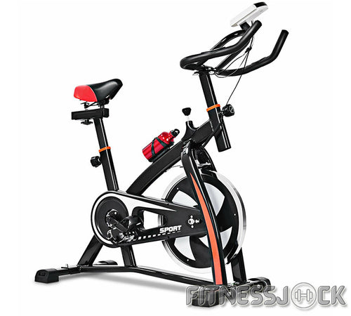 Indoor bike cycling cardio adjustable