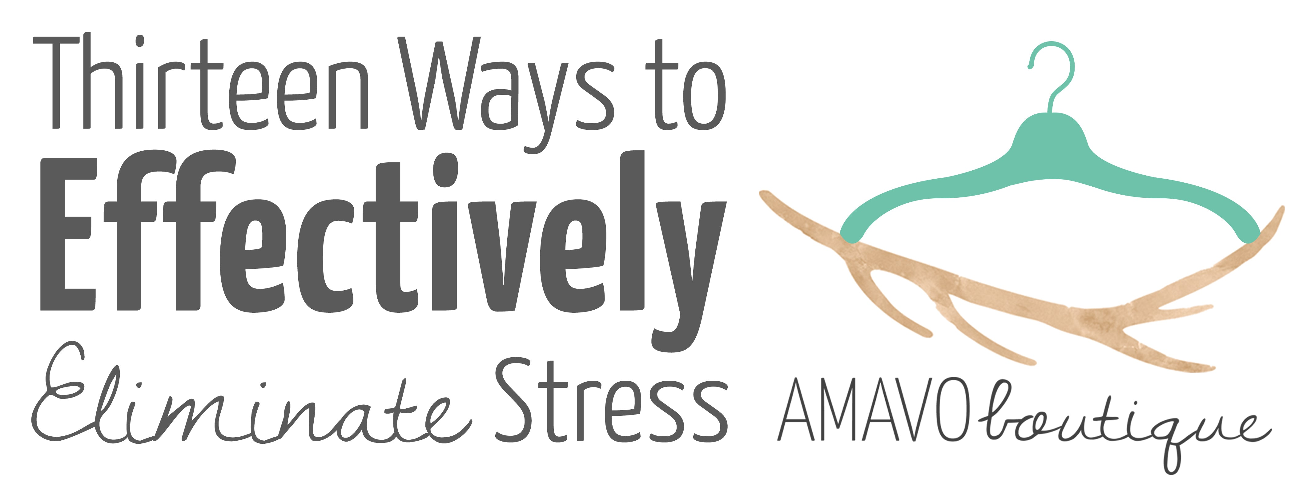 13 Ways to Effectively Eliminate Stress