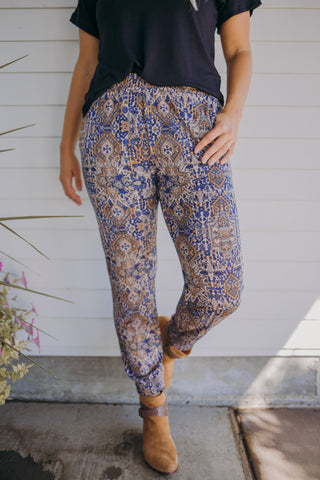 Betty Wide Crop Pants