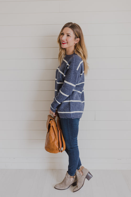 Plymouth Stripe Sweater