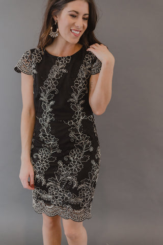 Gina Leopard Dress