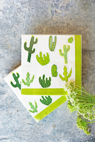 Cactus Cocktail Napkins