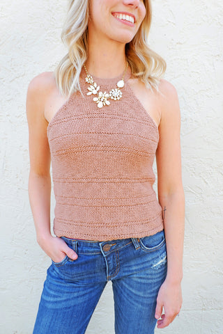 Find the Sun Halter Top
