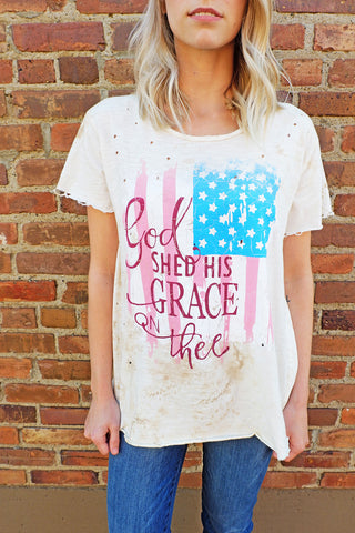 God Shed His Grace on Thee Shirt