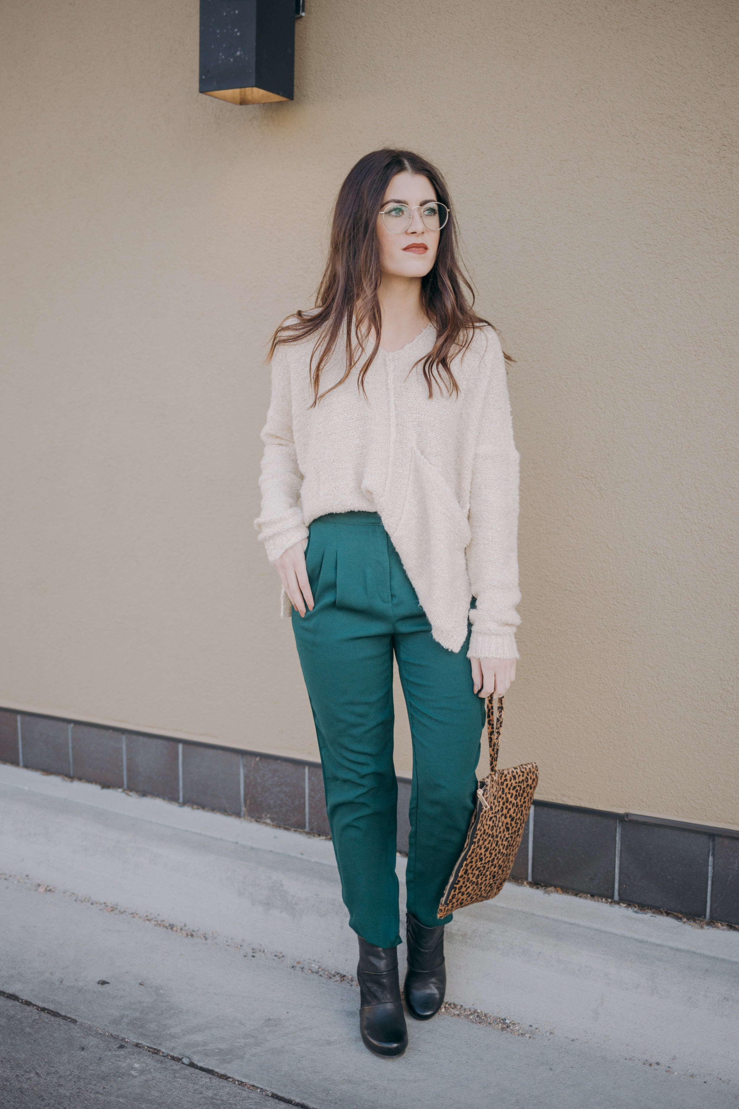Out on the Town Pant *Hunter Green