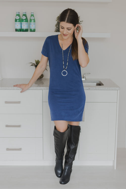 Trinity Soft Cobalt Blue Tunic