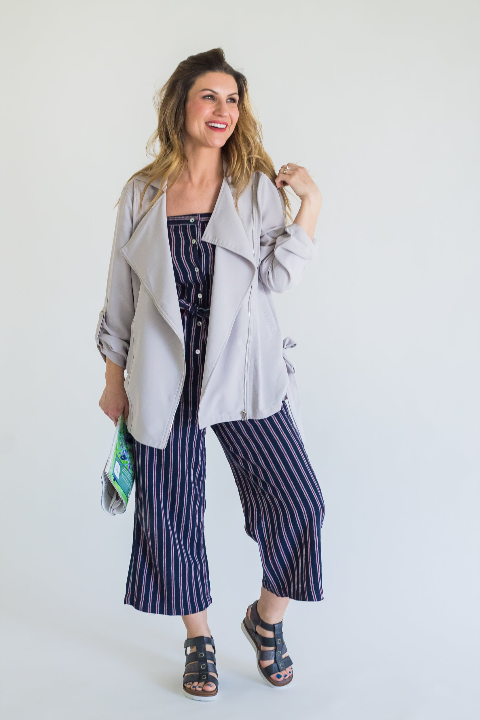 Kacey Light Grey Jacket