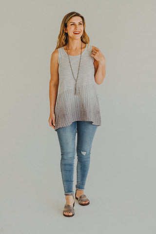 Grove V-Neck Stripe Tank