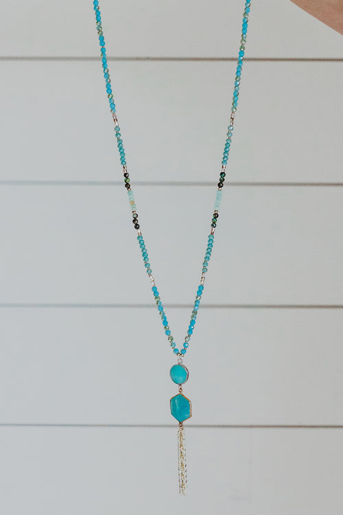 Nakamol Amazonite Bead Necklace