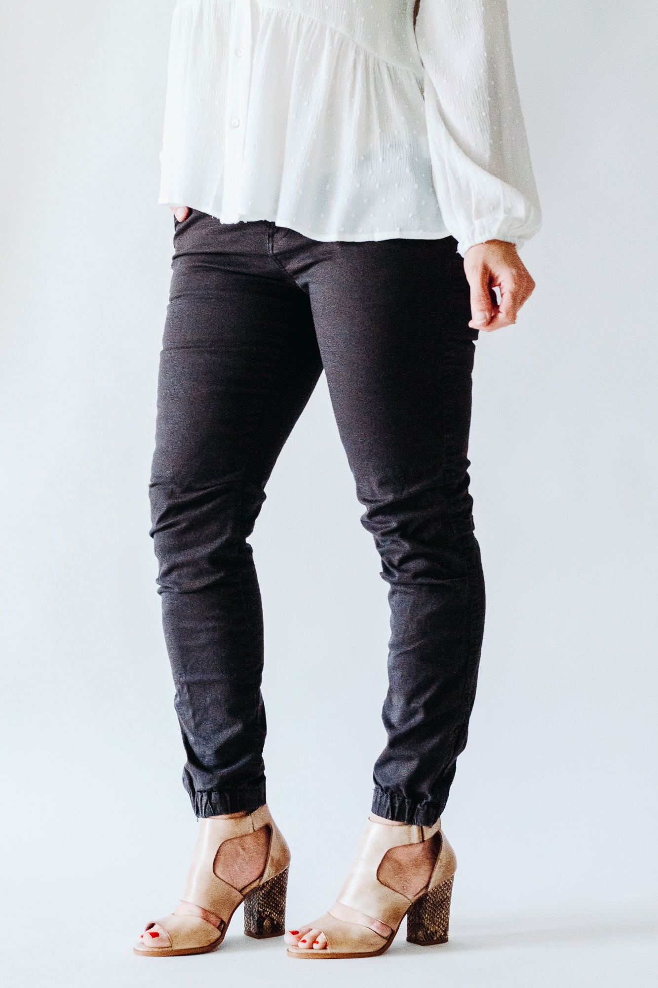 Stonefield Sinclair Charcoal Jogger