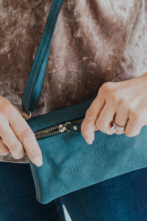 Dark Chambray New Kate Crossbody