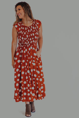 Genevieve Magenta Floral Dress