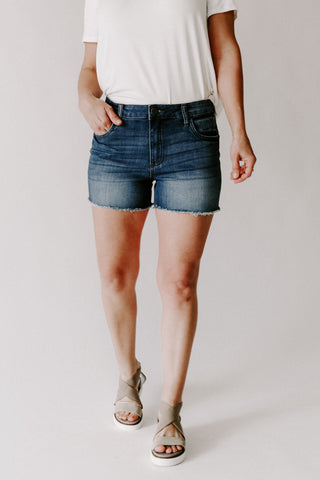 Remi Pin Stripe Shorts