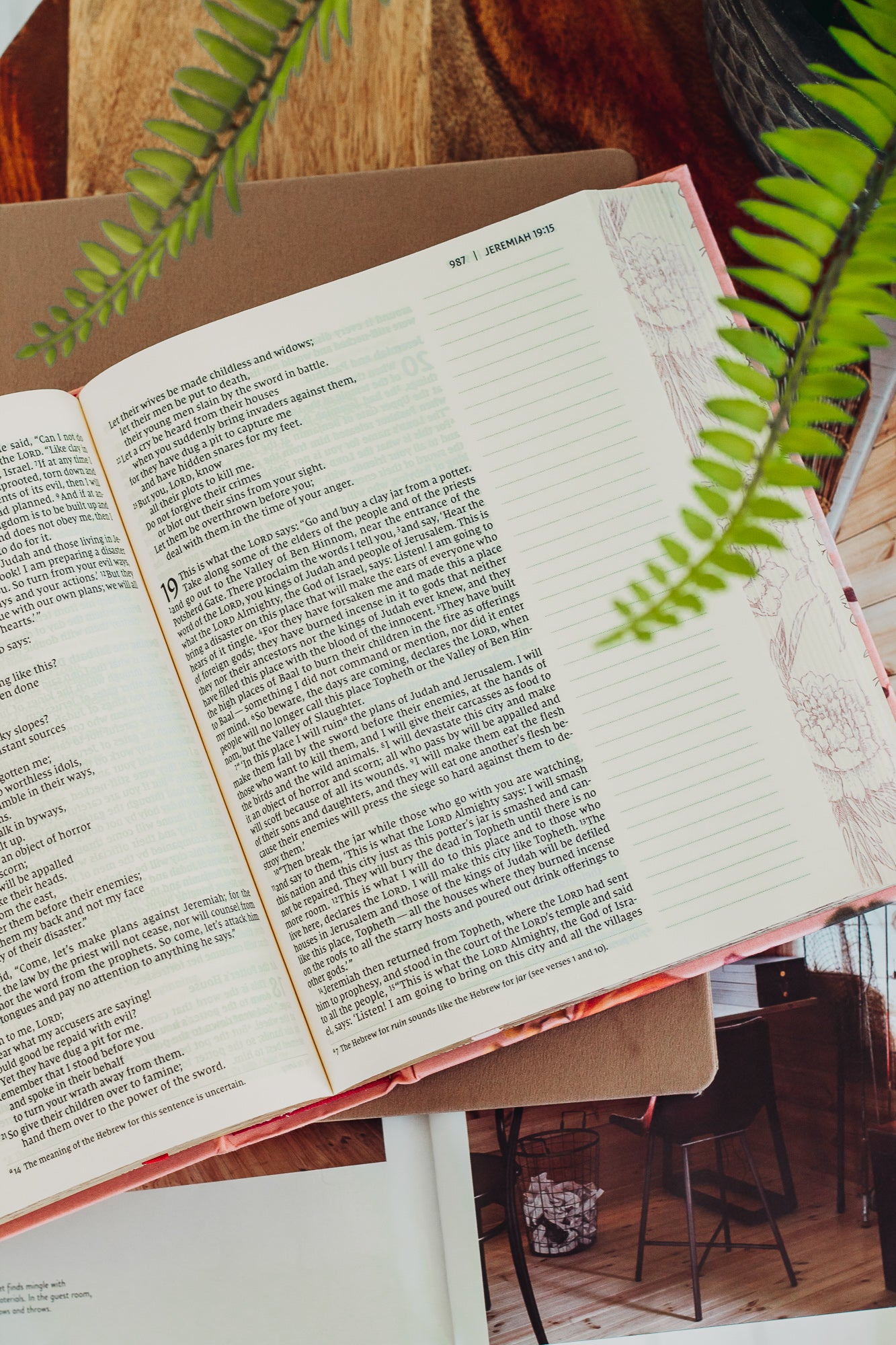 NIV Artisan Collection Bible - Pink