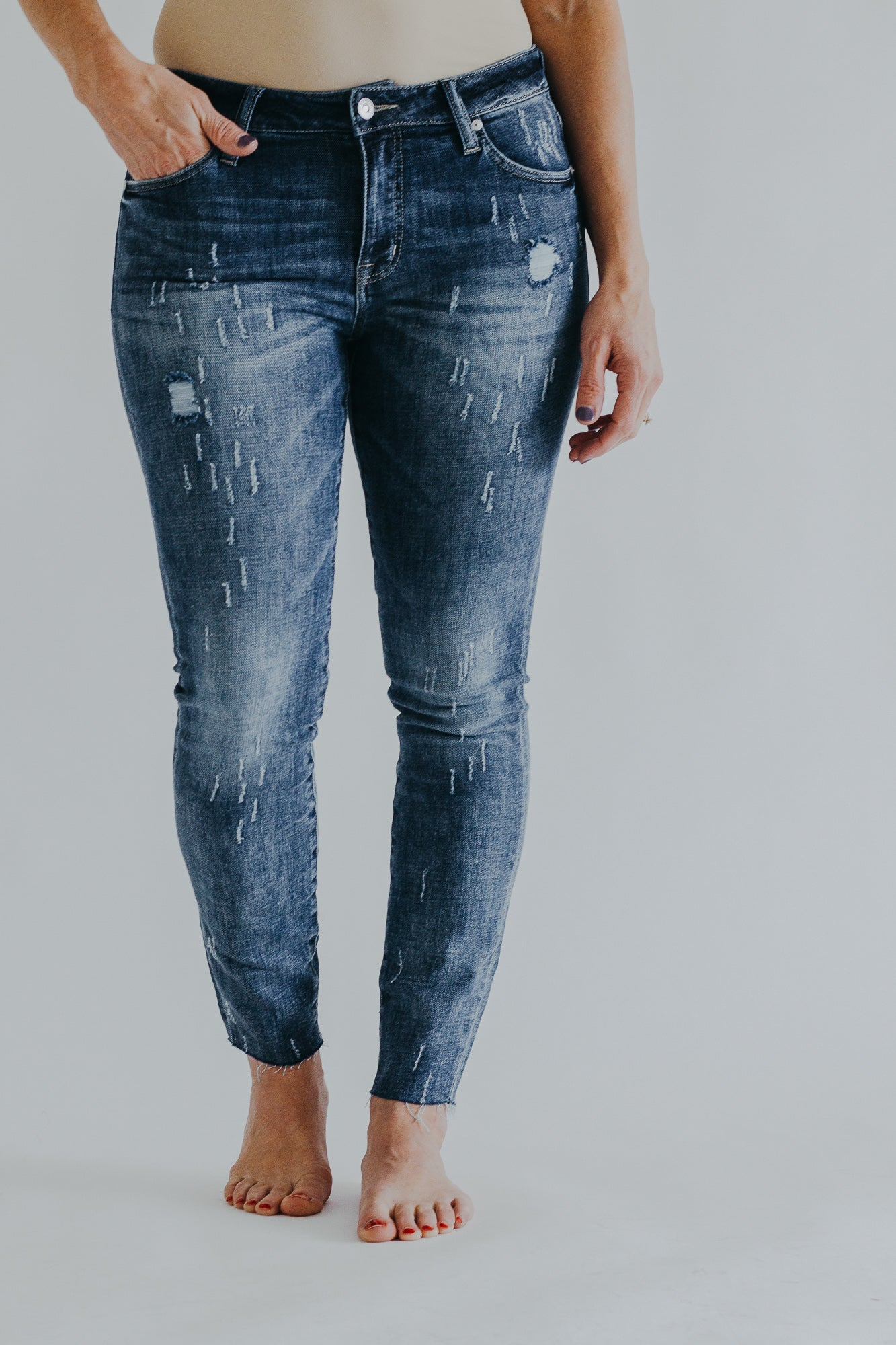 Stonefield Sloan Mid Rise Skinny *Mayfield