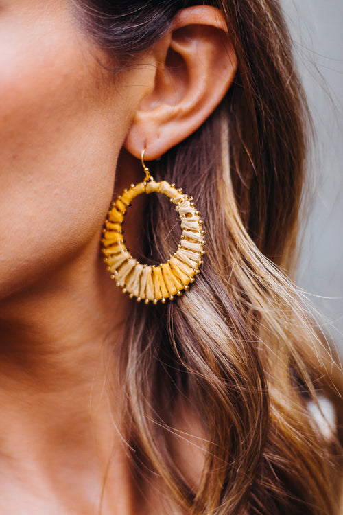 Yellow Caicos Earring