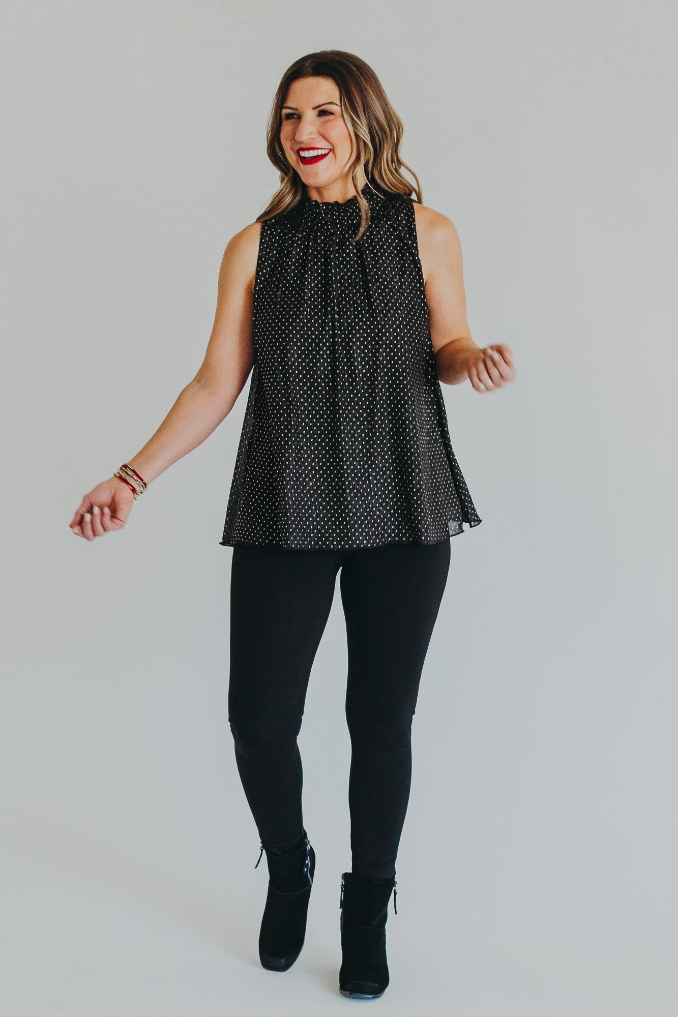 Dazzling You Glam Top