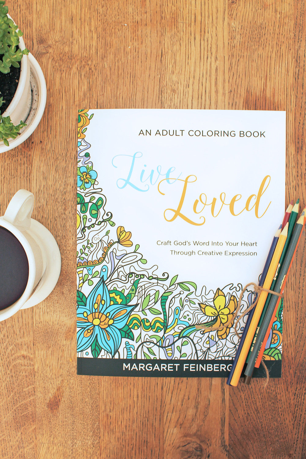 Live Loved Adult Coloring Book Set