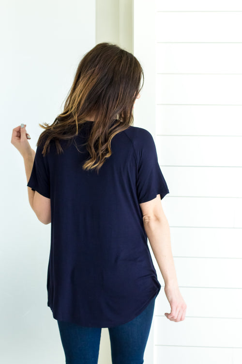 Shayley Tee *Dark Navy