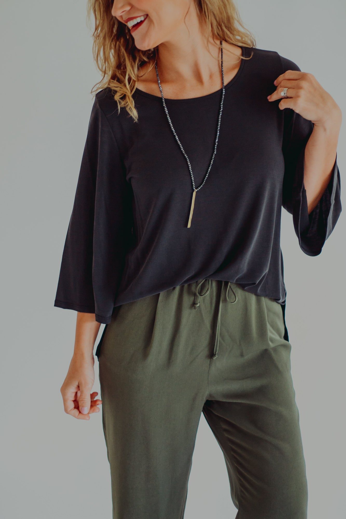Glenda Flutter Sleeve Top