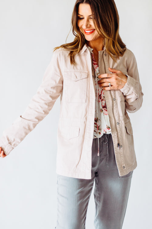 Thread & Supply Blush Luna Jacket