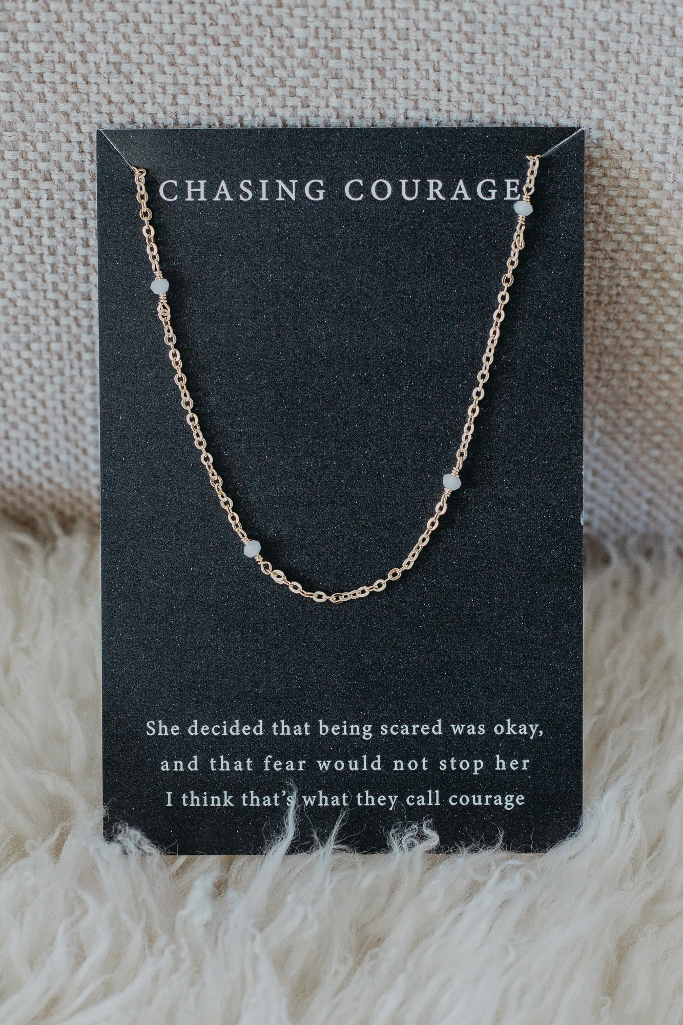 "Chasing Courage 16"" Necklace"