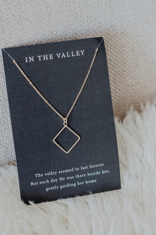 "In the Valley 18"" Necklace"