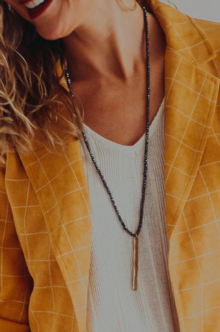 Gold Rays Necklace
