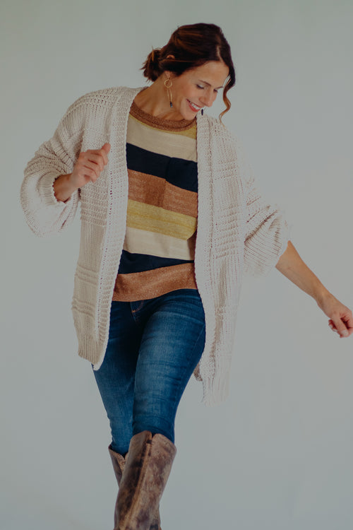 Fresh Mallow Plush Cardigan