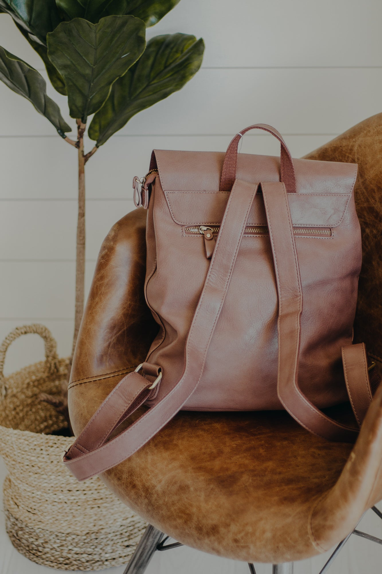Dark Mauve Colette Backpack