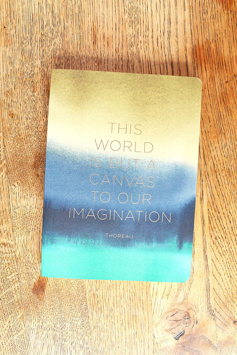 World is a Canvas Foil Journal