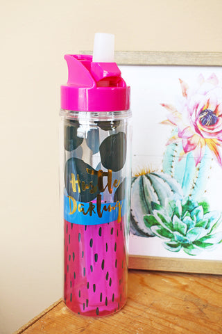 Hustle Darling Water Bottle