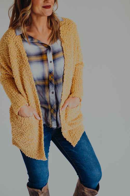 Honey Dolman Cardigan