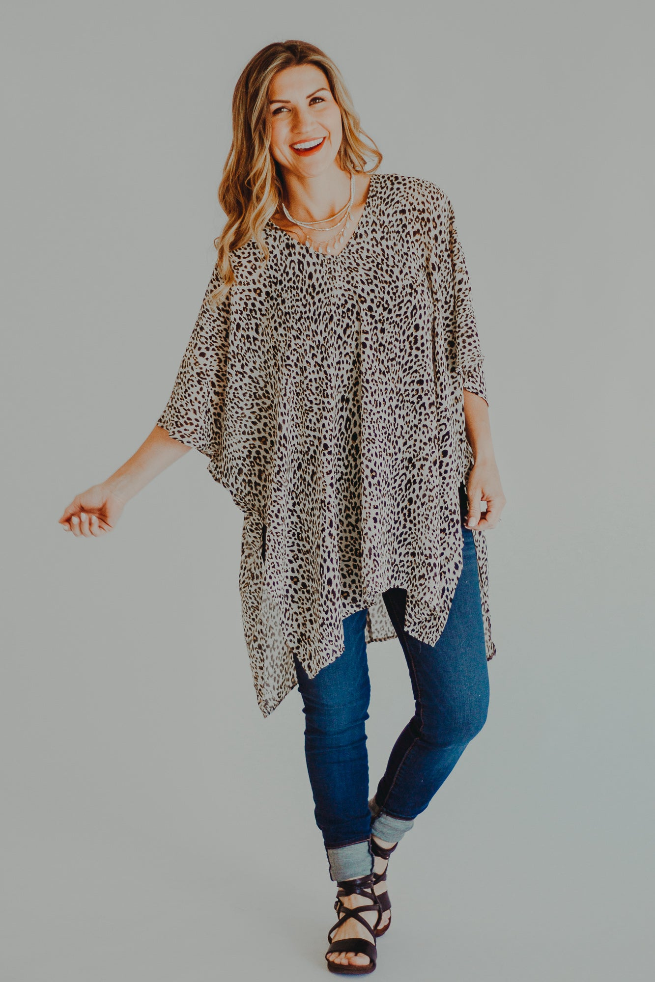 Linnea V-Neck Tunic