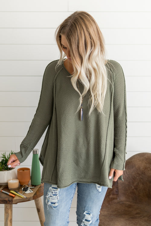 Fenway Cozy Sweater *Olive