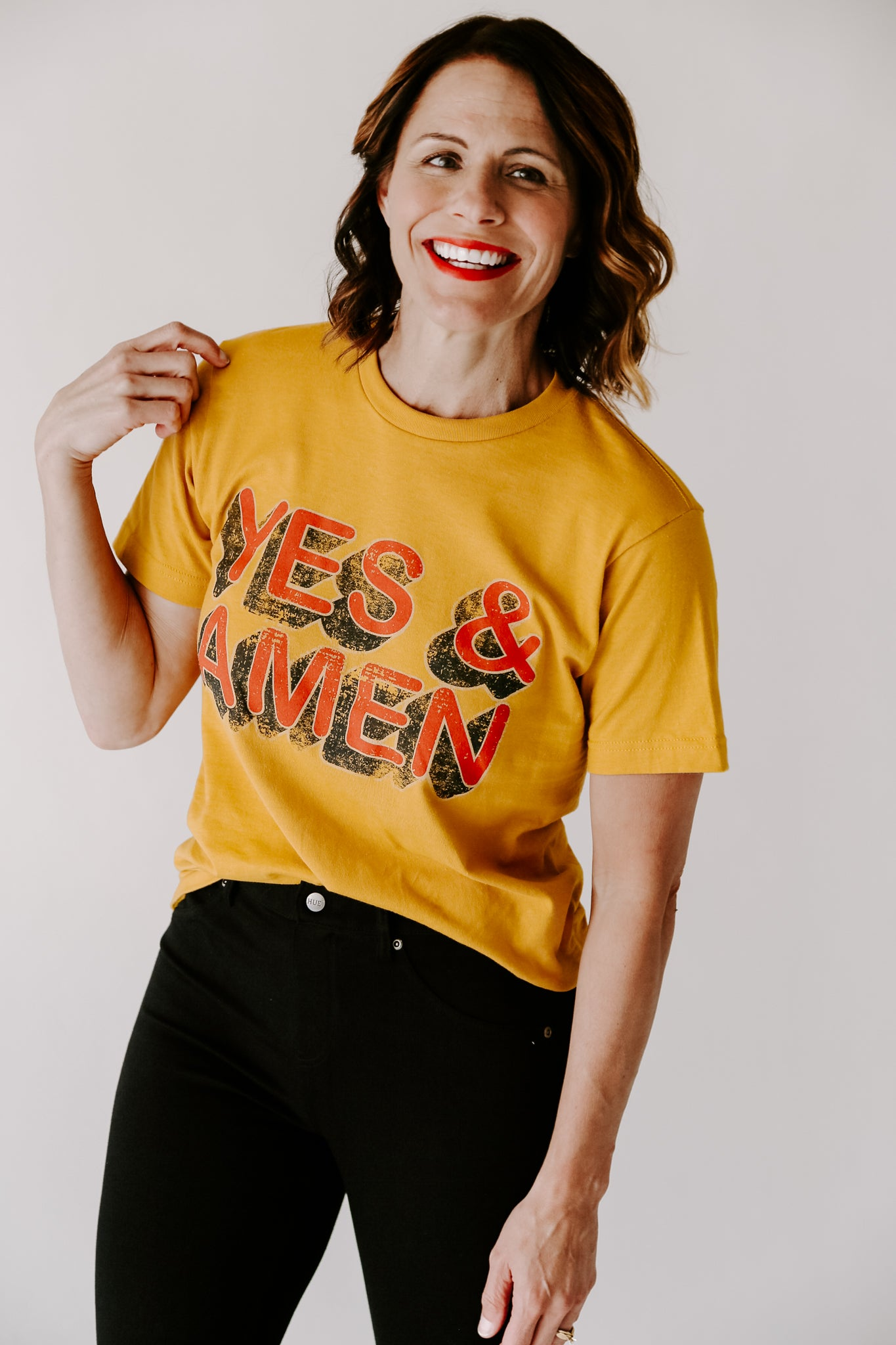 Yes & Amen Graphic Tee