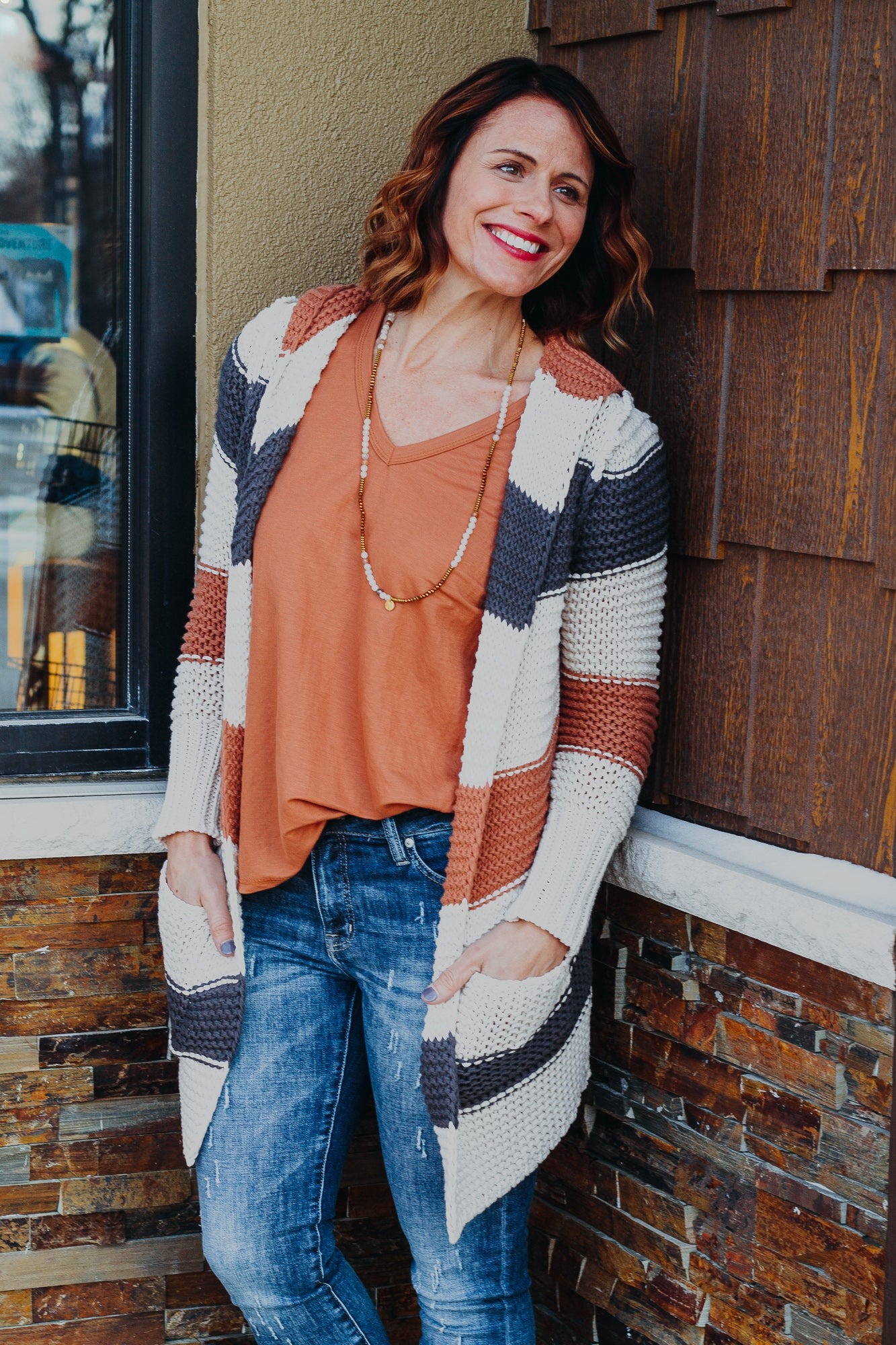 Sienna Rust Top