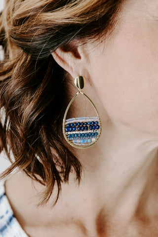 Nakamol Whispie Earring *Navy
