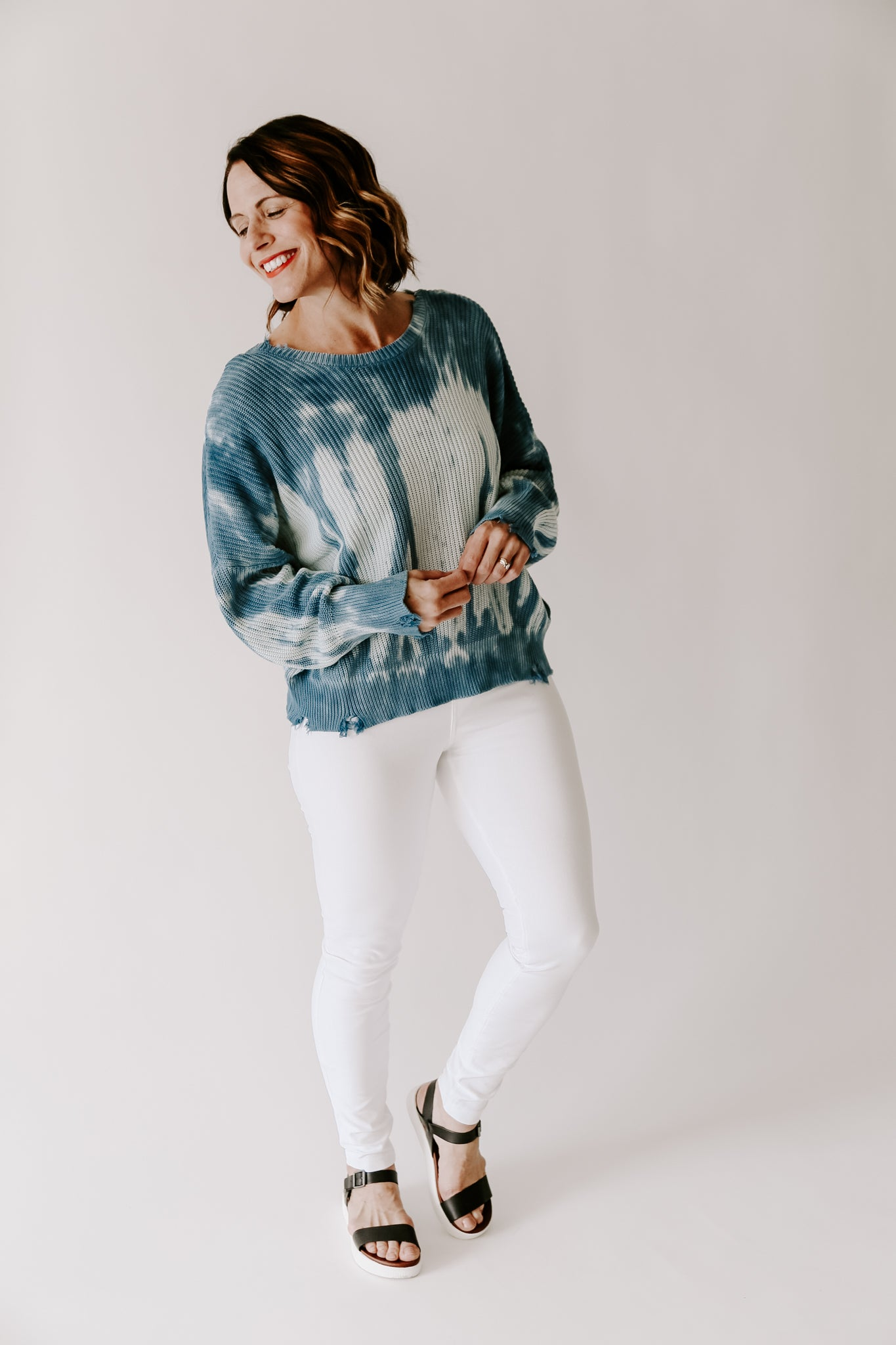 Lake Days Ahead Sweater
