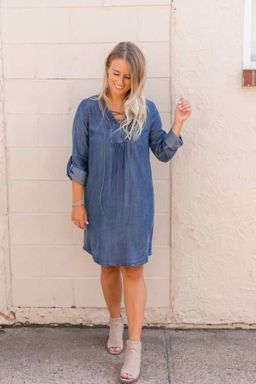 Darcie Tencel Denim Dress