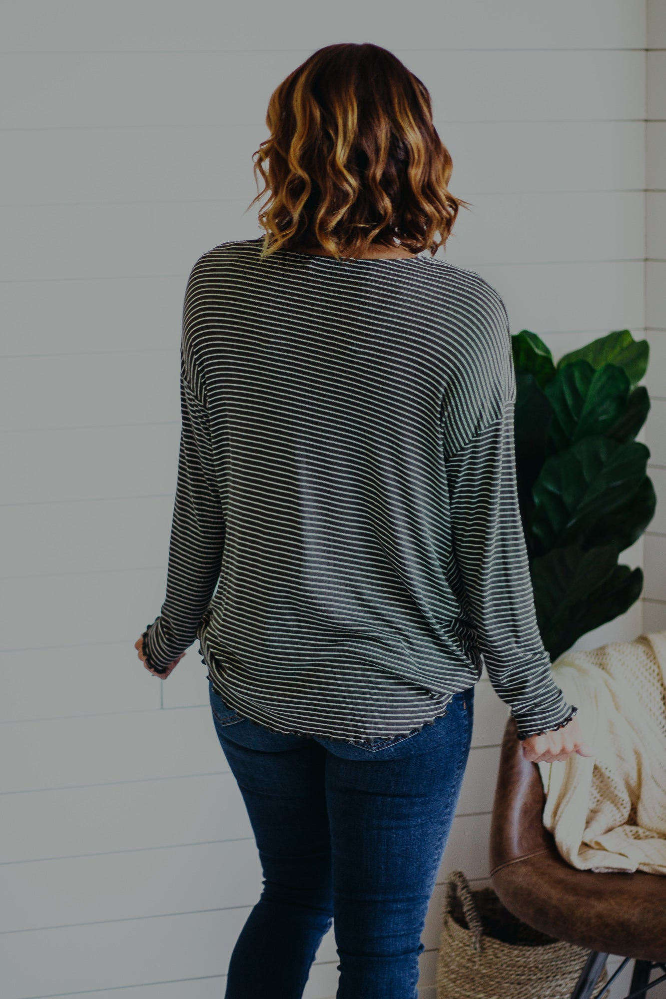 Hadley Wrap Knit Top