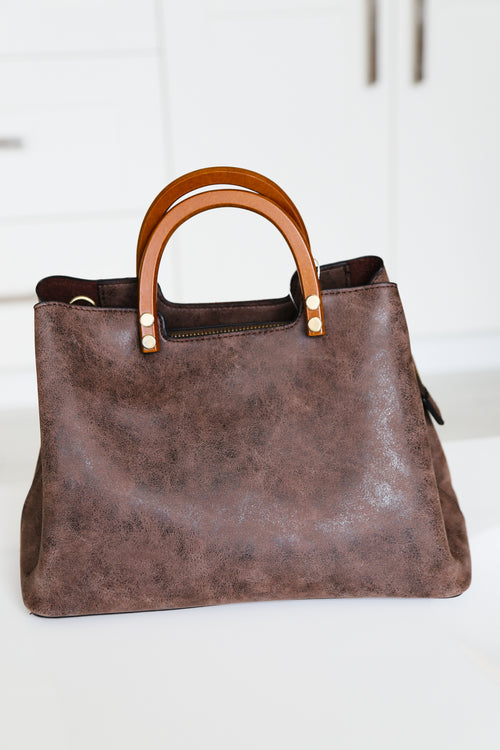 Chocolate Angie Vintage Satchel