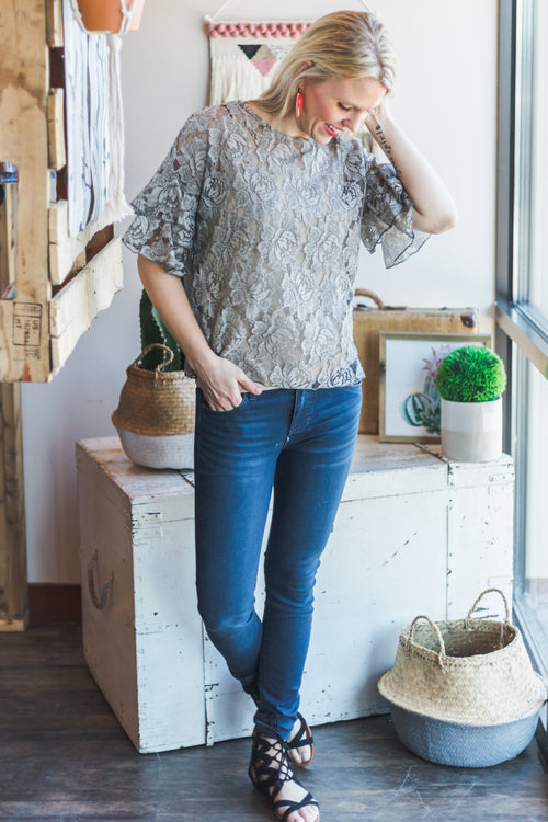 Romantics Lace Top