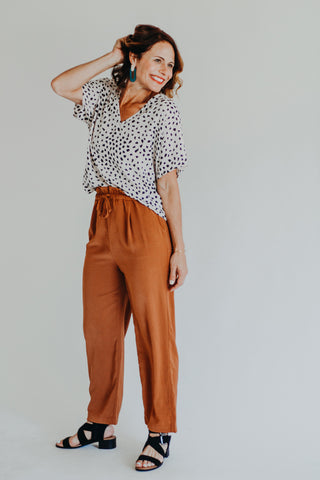 Pensi Rust Jumpsuit